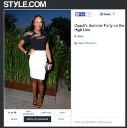 Style.com - Party Pics