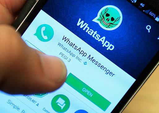 Sequestro por aplicativo: sua  conta do WhatsApp