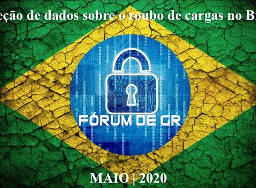 Coleção de dados sobre o roubo de cargas no Brasil - versão comentada
