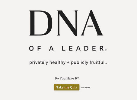 Take the DNA of a Leader Quiz