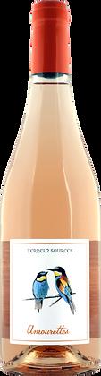 Amourettes rosé 2020 IGP St Guilhem le Désert (6 bouteilles)