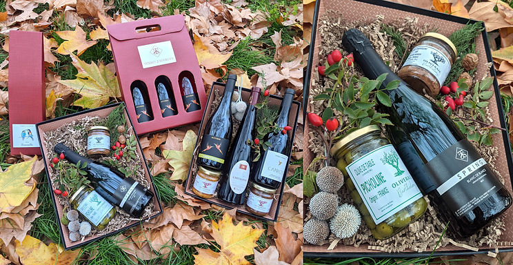 Gift Baskets available from Terre des 2 Sources