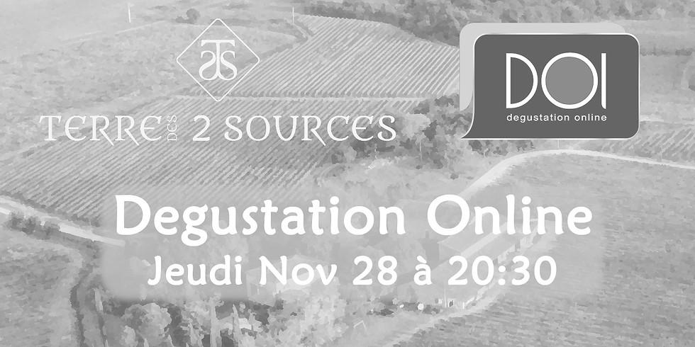 Degustation Online - Past Event