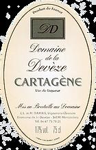 Terre des 2 Sources Domaine de la Devèze Cartagene Ambree label, Non Vintage