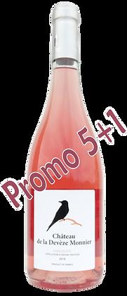 Château de la Devèze Monnier rosé 2018 AOP Languedoc (6 bouteilles)