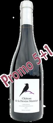 Château de la Devèze Monnier rouge 2015 AOP Languedoc (6 bottle box)