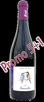 Amourettes rouge 2017 IGP Pays D'Oc (6 bouteilles)