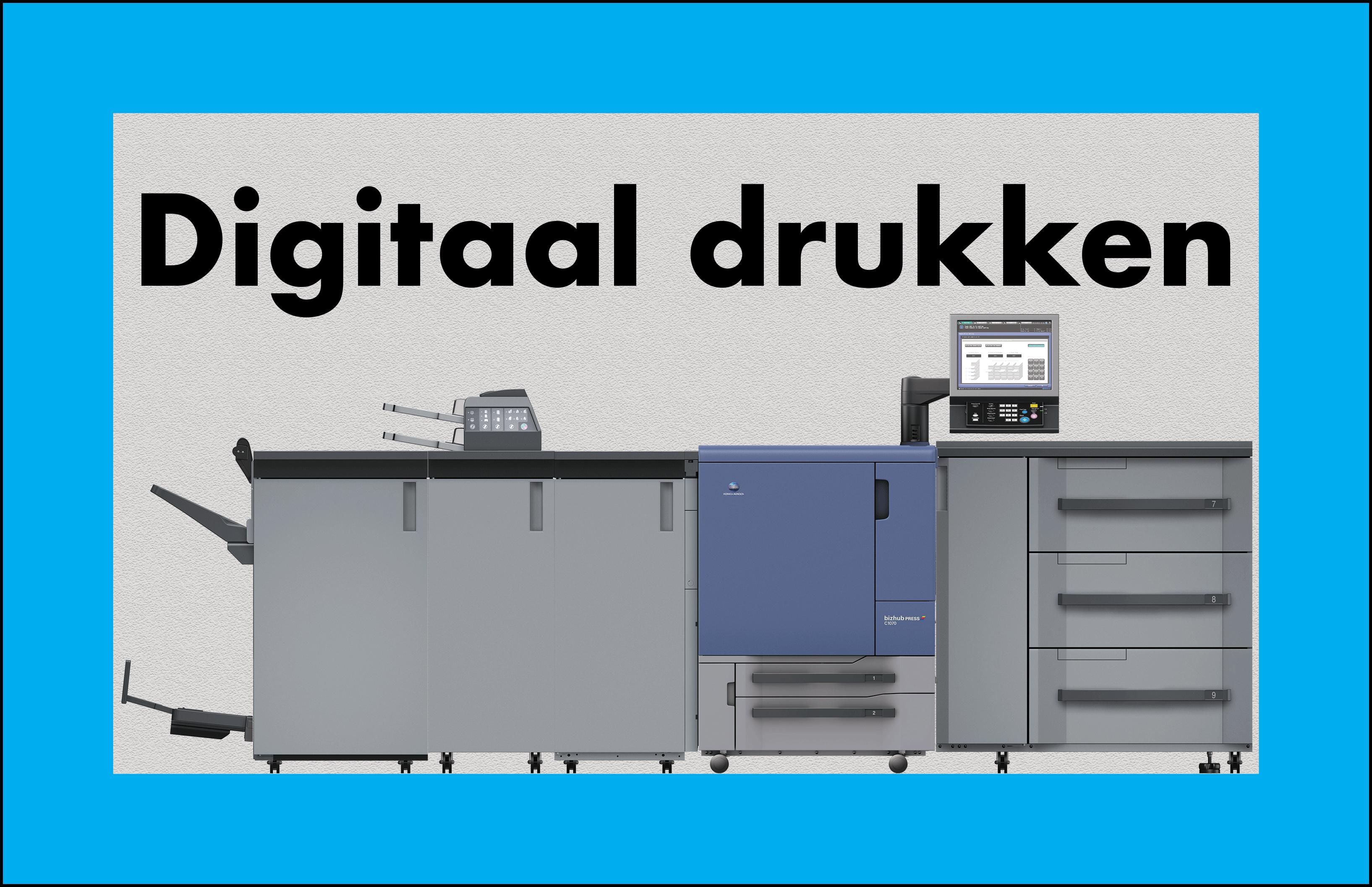Digitaal-drukken