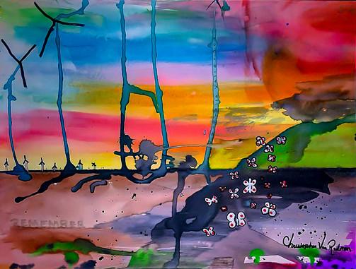 14.-Palm-Springs-12in.-x-9in.-Watercolor