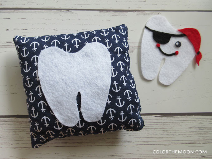 These DIY tooth fairy pillows are SO CUTE! Superhero, Pirate, Ballerina, and Bear. What a fun craft project to get the kids excited for the tooth fairy!