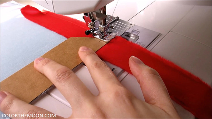 Tutorial: How to bind quiet book page edges