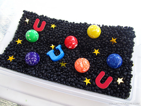 UNIVERSE SENSORY PLAY IDEAS