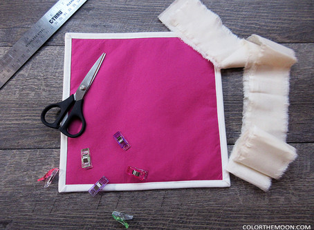 TUTORIAL: THE EASY WAY TO BIND QUIET BOOK PAGE EDGE