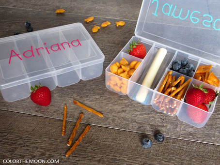 HOW TO MAKE A PERSONALIZED TRAVEL SNACK BOX