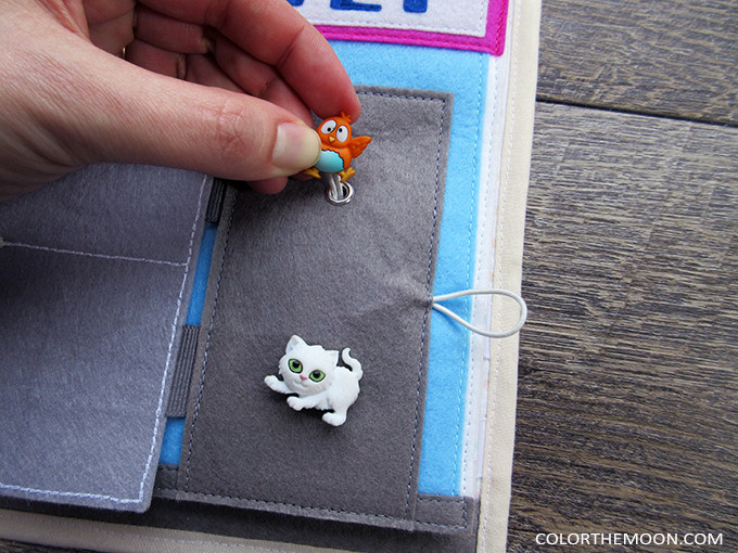 Pet Vet Quiet Book Page - PATTERN & TUTORIAL