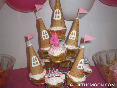 PRINCESS CASTLE CUPCAKES