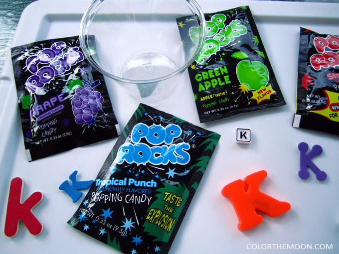 This Pop Rocks sensory activity is SO FUN and so easy to make! What a great way to teach kids about the sense of sound!