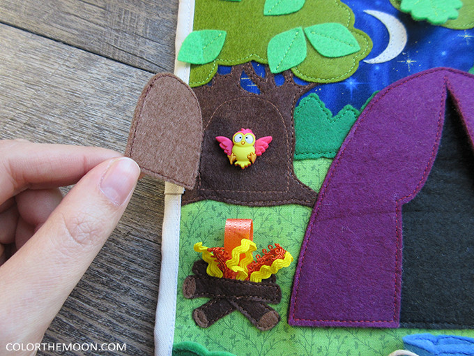 Pattern & Tutorial Available Now! Camping Quiet Book Page