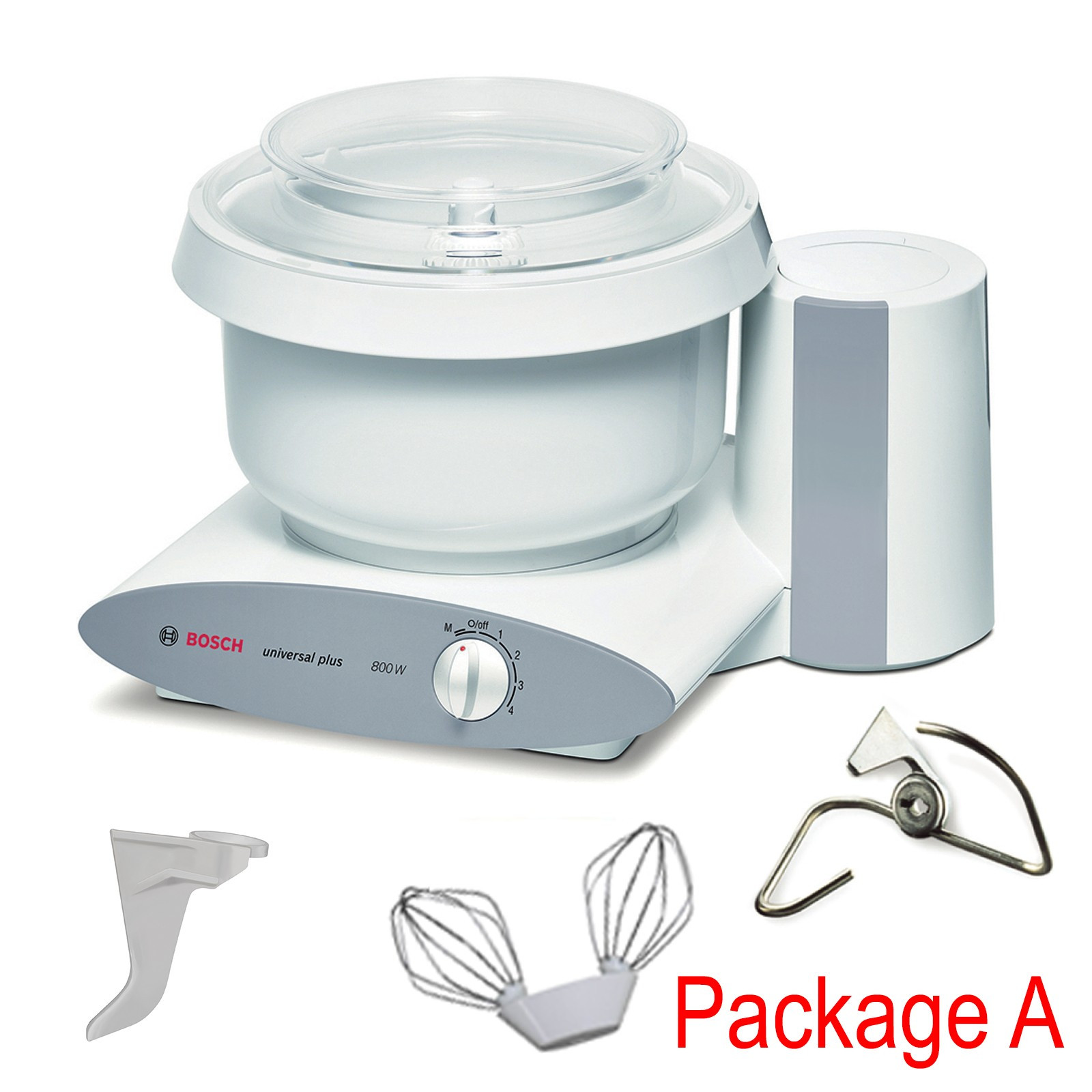 Natural Healthy Cooking Bosch Universal Plus Mixer Package A
