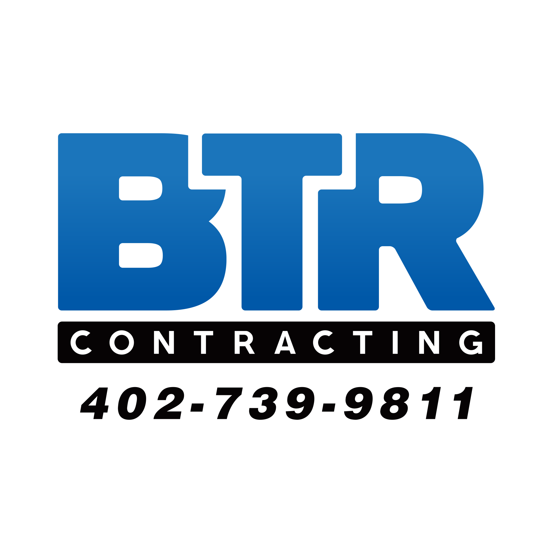 BTR numbers transparent background