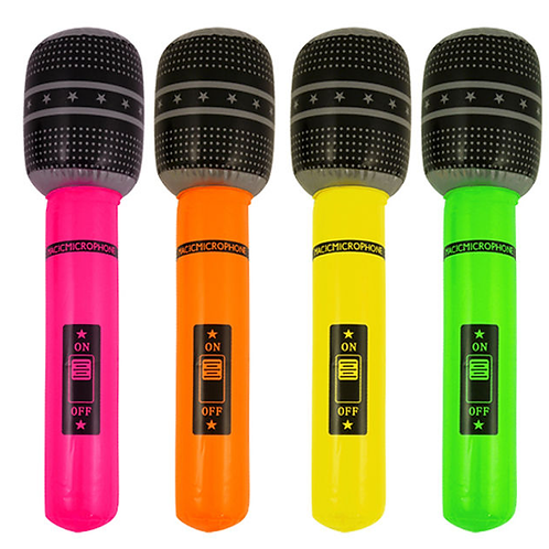 Inflatable Toy Microphone