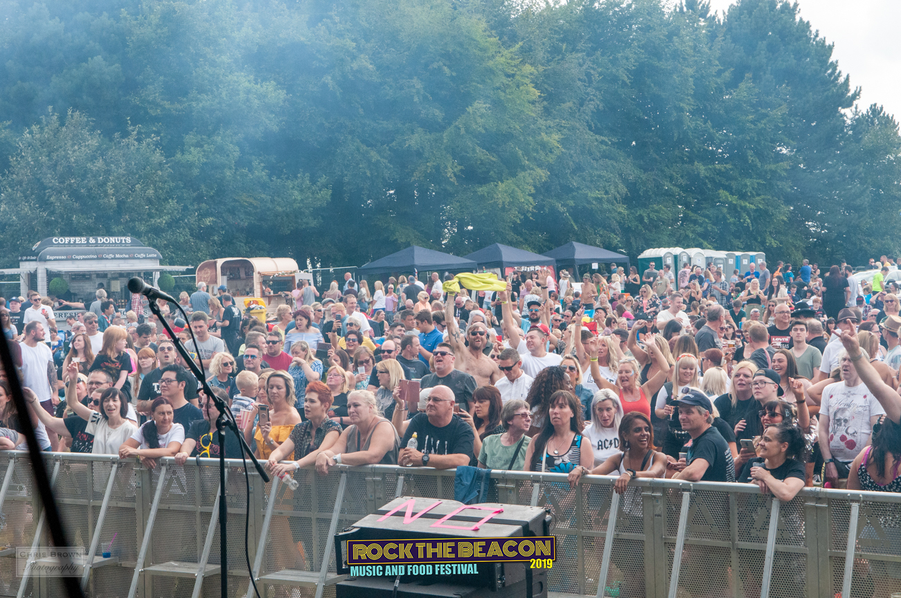 Crowd 14 - Rock The Beacon 2019 - Credit