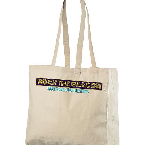 Rock The Beacon Natural Cotton Bag