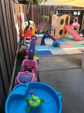 נהנים בחצר