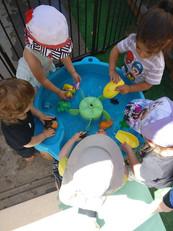 משחקי מים בקיץ