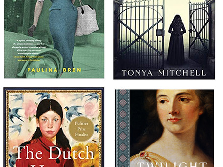 The Books of March: A Feigned Madness, The Dutch House, Twilight Empress, and The Barbizon