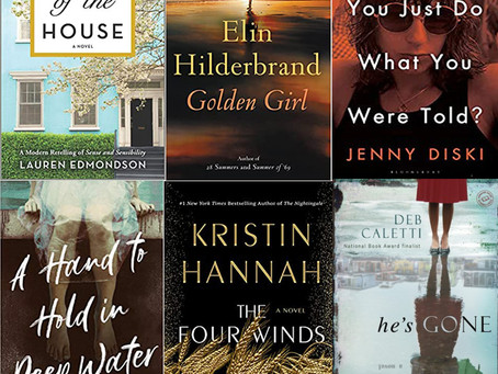 Summer Reads and Some that Will Take You into Fall