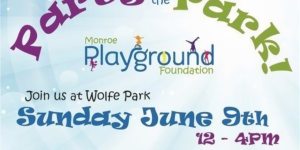 Party in the Park   Wolfe Park   Sunday 6/9