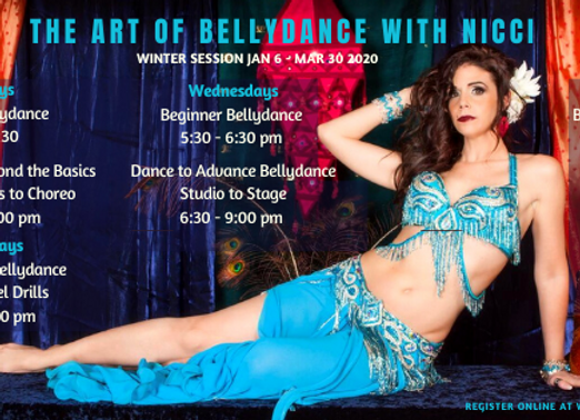 Beginner Bellydance -  Wednesdays