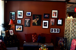Artists Feature Wall