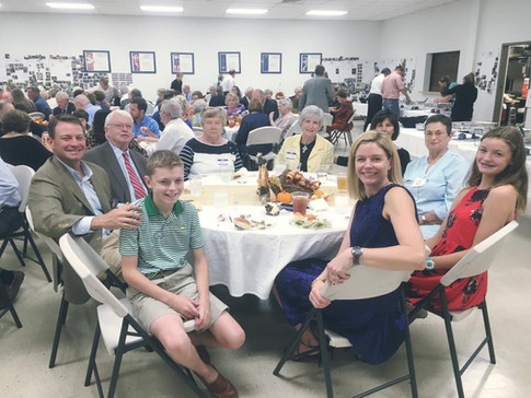 Fellowship around a table!