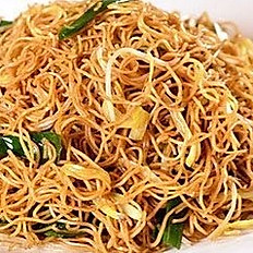 Pan Fried Noodles /Rice Noodles with Special Soy Sauce