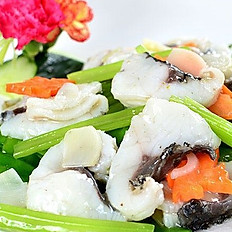 Sauteed Fish Fillet with Vegetable