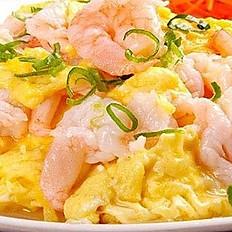 Shrimp with Scrambled Egg