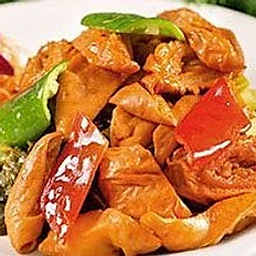 Pork Intestine with Sour Vegetalbe