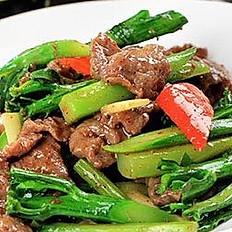 Sauteed Beef with Seasonal Vegetables
