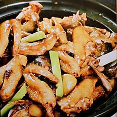 Braised Duck, Quail & Chicken  幹迫百鳥歸巢