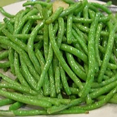Sauteed Green Bean with Garlic  蒜茸四季豆