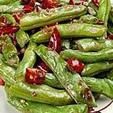 Braised Green Bean with Pork  幹扁四季豆
