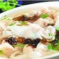 Seaweed Wonton Soup