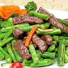 Sauteed Beef with Green Bean