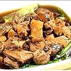Beef Stew with Tofu Skin