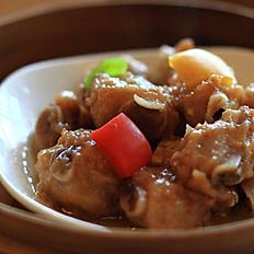 Steamed Black Pepper Sauce Pork Ribs 黑椒牛仔骨