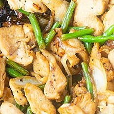 Stir Fried Chicken with Green Bean