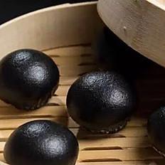 Black and Gold Liu Sha Bun 烏金流沙包