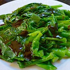 Chinese Broccoli with Oyster Sauce 蠔油中芥蘭